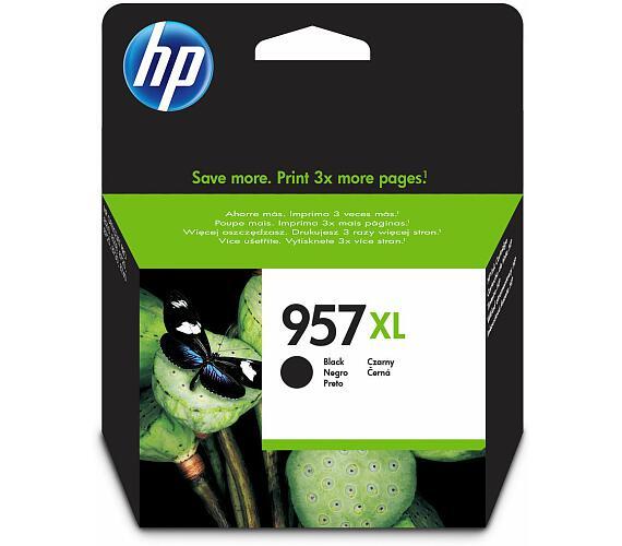 HP 957XL černá velká inkoustová kazeta