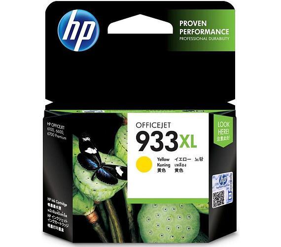 HP 933XL žlutá inkoustová kazeta
