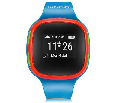 Chytré hodinky ALCATEL MOVETIME Kids Watch SIM - červené/modré