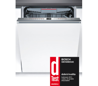 Bosch SMV68MD02E vestavná + 100 dní možnost vrácení* + DOPRAVA ZDARMA
