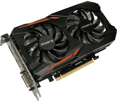 GIGABYTE GTX 1050 OC 2GB + DOPRAVA ZDARMA