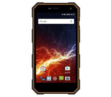 myPhone HAMMER ENERGY Dual SIM - černý/oranžový + DOPRAVA ZDARMA