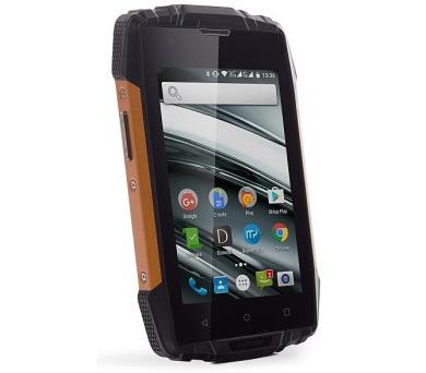 myPhone HAMMER IRON 2 Dual SIM - černý/oranžový