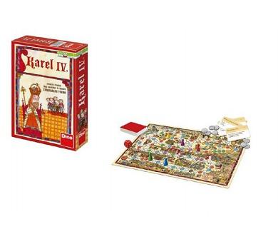 Karel IV. společenská hra v krabici 18x16x6cm