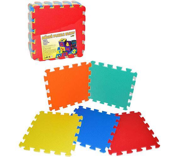 Pěnové puzzle 32x32cm 10ks v sáčku + DOPRAVA ZDARMA