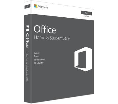 Office Mac 2016 pro domácnosti CZ (GZA-01051)