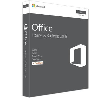 Office Mac 2016 pro domácn. a podnikatele CZ (W6F-00999)