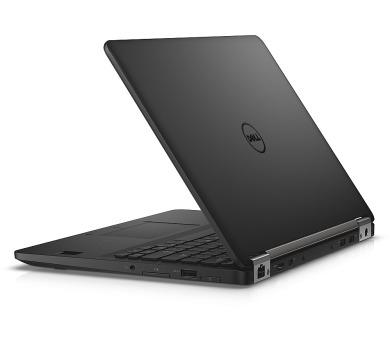 "Dell Latitude E7270 12"" FHD i5-6300U/8GB/256GB SSD/Intel HD/FPR/SCR/MCR/HDMI/DP/USB/W10P/3RNBD/Černý"