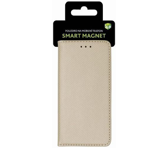 Pouzdro s magnetem iPhone 6/6S gold + DOPRAVA ZDARMA