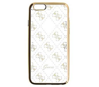Guess 4G TPU Pouzdro Gold pro iPhone 6/6S