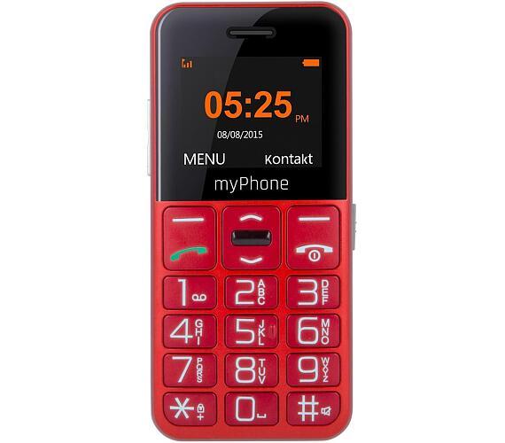 myPhone HALO EASY - červený