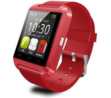 Smart hodinky U8 červené