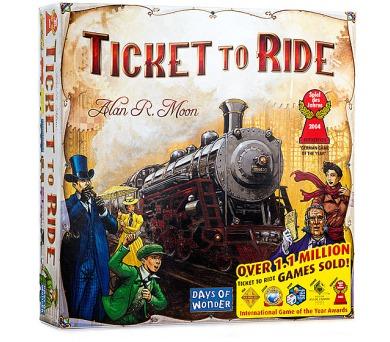Ticket to Ride + DOPRAVA ZDARMA