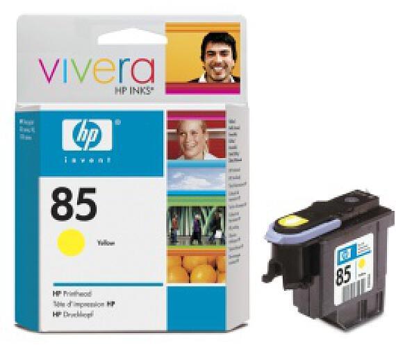 HP no 85 - žlutá tisková hlava