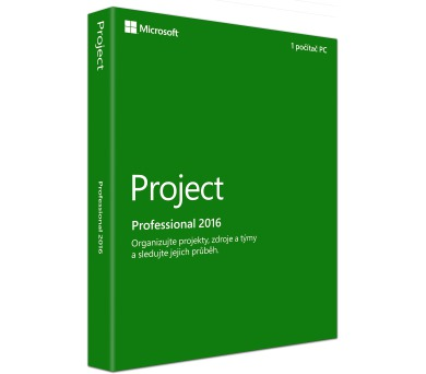 Project 2016 Professional SK + DOPRAVA ZDARMA