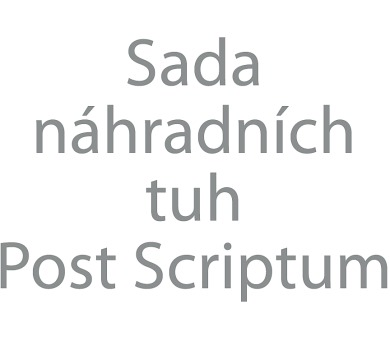Albi Sada náhradních tuh Post Scriptum