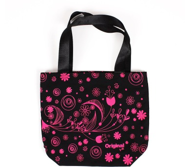 Albi Plátěná taška s květy