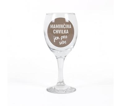 Albi Sklenička na víno - Maminčina chvilka pro sebe