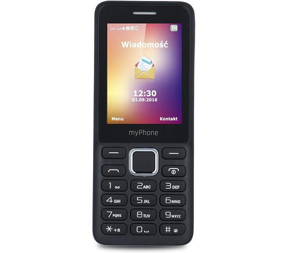 myPhone 6310 Dual SIM - černý