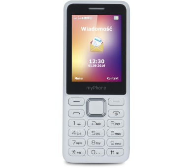 myPhone 6310 Dual SIM - bílý