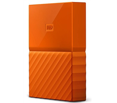 "HDD ext. 2,5"" Western Digital My Passport 2TB - oranžový"
