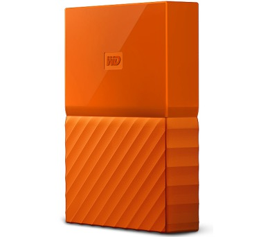 "HDD ext. 2,5"" Western Digital My Passport 3TB - oranžový"