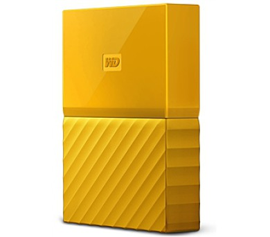 "HDD ext. 2,5"" Western Digital My Passport 3TB - žlutý"