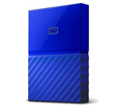 "HDD ext. 2,5"" Western Digital My Passport 1TB - modrý"