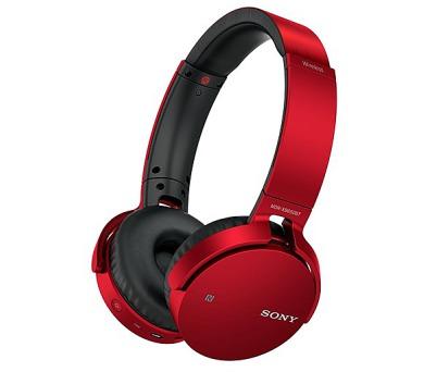 Sony MDRXB650BTR.CE7 - červená + DOPRAVA ZDARMA
