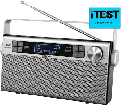 Sencor SRD6600 FM/DAB+ + DOPRAVA ZDARMA