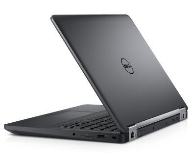"""Dell Latitude E5470 14"""" HD i7-6600U/8GB/1TB/M360-2G/USB/HDMI/VGA/SCR/FPR/W10P/3RNBD/Černý"""