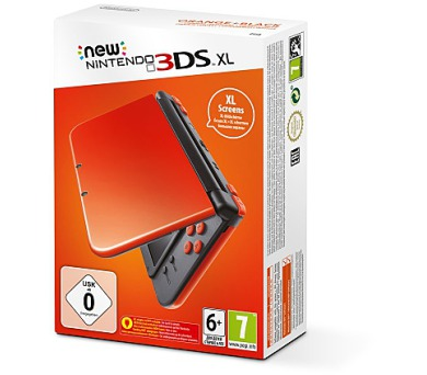 Nintendo 3DS XL Orange + Black