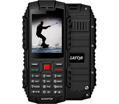 Mobilní telefon Aligator R12 eXtremo - černý