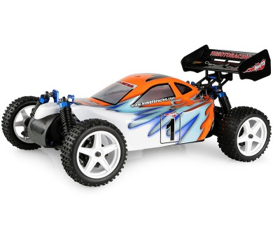 HIMOTO RC Auto - Buggy Z-3 1/10 elektro RTR set 2,4GHz modrá + DOPRAVA ZDARMA