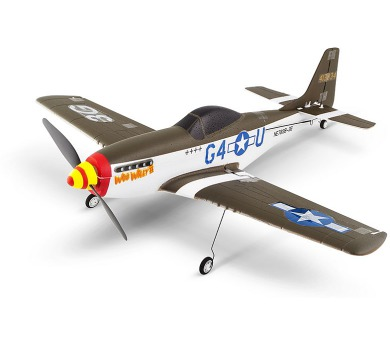 Nine Eagles letadlo P-51 Mustang s 3-osým gyrem (mode 1 a 2) + DOPRAVA ZDARMA
