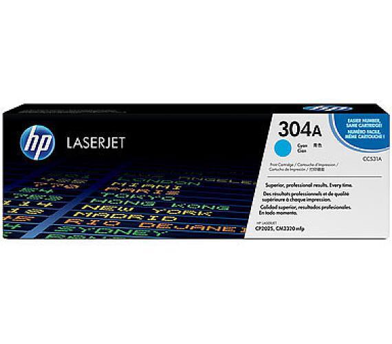 HP 304A - azurový Contract Toner + DOPRAVA ZDARMA