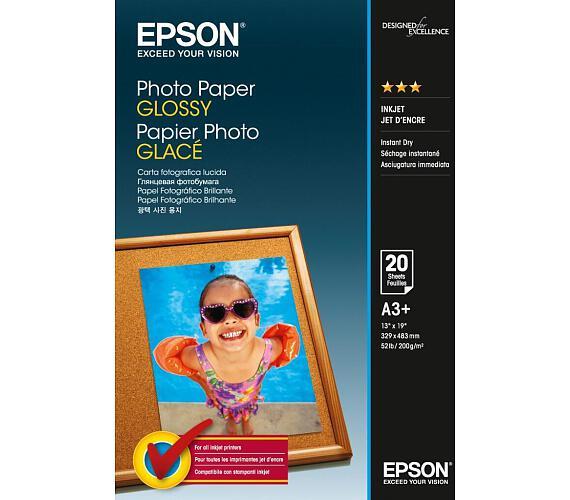 EPSON Photo Paper Glossy A3+ 20 listů (C13S042535)