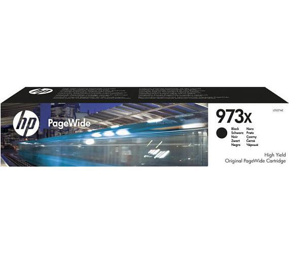 HP 973X černá inkoustová kazeta + DOPRAVA ZDARMA