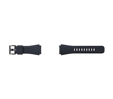 Samsung silikonový pro Gear S3 Frontier - černý + DOPRAVA ZDARMA