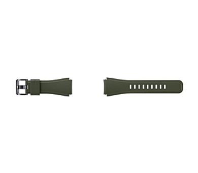 Samsung silikonový pro Gear S3 Frontier - khaki + DOPRAVA ZDARMA