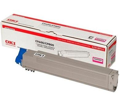 Oki Magenta toner do C9600/9800/MFP (15 000 str) + DOPRAVA ZDARMA