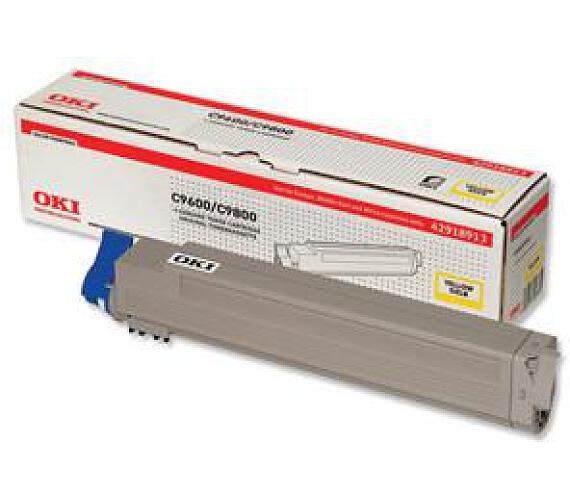 Oki Žlutý toner do C9600/9800/MFP (15 000 str) + DOPRAVA ZDARMA