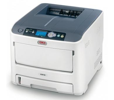 OKI C610n A4 36/34ppm ProQ2400 USB LAN + DOPRAVA ZDARMA