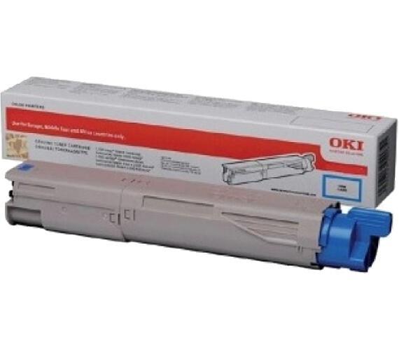 Cyan toner do MC853/873 (7.300 stránek)