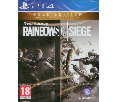PS4 - Tom Clancy's Rainbow Six: Siege Gold Edition