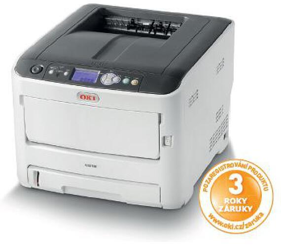 OKI C612n A4 36/34ppm ProQ2400 USB LAN (46406003)