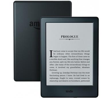 Amazon Kindle 8 TOUCH Wi-Fi verze s reklamou - černá