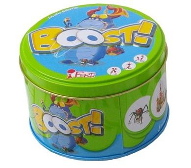 Boost! - rychlá postřehová karetní hra!