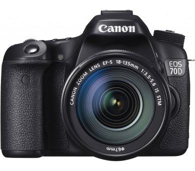 Canon EOS 70D 18-135 IS STM + DOPRAVA ZDARMA