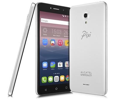 Mobilní telefon ALCATEL PIXI 4 (6) 8050D HD - stříbrný